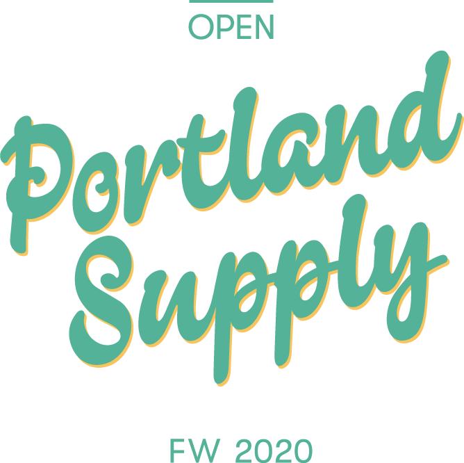 This image has an empty alt attribute; its file name is AO-PortlandSupply_Logo-Transparent_Green-Yellow_1-1.png